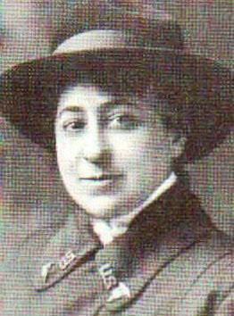 Amelia Greenwald, Army Nurses Corps, circa 1918